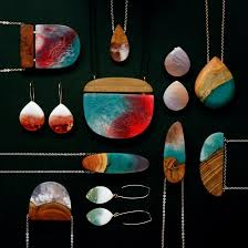 melbourne jewellery designers designer turns salvaged wood fragments into resin jewelry resin