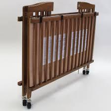 la baby full size wood folding crib free shipping 279 95