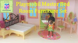 Furniture Set Bedroom Playmobil 5309 Master Bedroom Furniture Set Unboxing Little