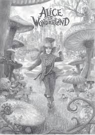 alice wonderland 2 film drawing deviantart