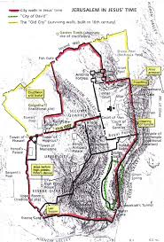 Map Of Jerusalem History And Stuff September 2014