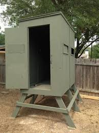 2 Person Deer Blind Plans Wood Deer Stand Images