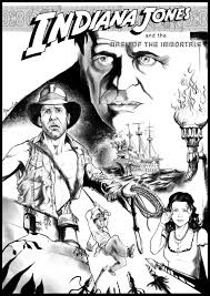 indiana jones cover by drawmanou on deviantart