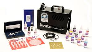 iwata medea airbrush paints nail art system airbrushes