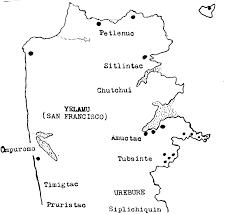 Map Of San Francisco Ca by Map Of Yelamu Aka San Francisco Showing The Original