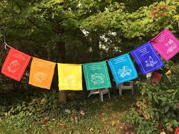 tibetan healing prayer flags roll u2013 thedharmashop