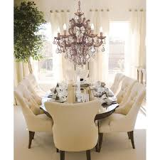 Transitional Chandeliers For Dining Room by Crystorama 4435 Gd Cl Mwp Maria Theresa Gold 6 Light Chandelier