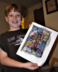 thesis of martin luther reformation day craft stained glass paintings glass and craft happy reformation day the day we celebrate martin luther papering a local church well