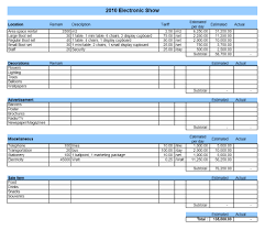 Department Budget Template Excel Event Budget Template Excel 2010 Budget Template Free