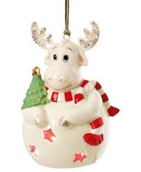 lenox light up moose ornament collections for the home macy s