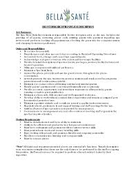 Job Resume For Receptionist by Resume For Front Desk Receptionist Free Resume Example And