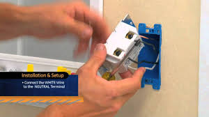 touch l on off plug in control ge z wave on off switch youtube
