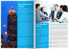 corporate newsletter template 4 pages by addaxx graphicriver