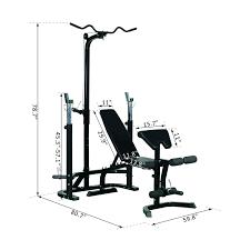 Weight Bench Leg Exercises Aosom Soozier Olympic Weight Bench Black Exercise Benches