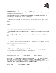 wedding dj contract template 122973 png