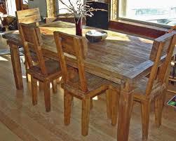 Teak Dining Room Furniture by Reclaimed Teak Dining Tables