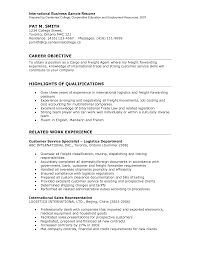 international resume sample sample resume international human