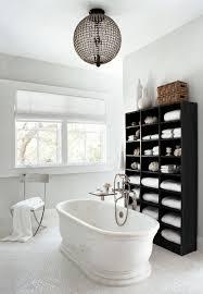 small bathroom shelf ideas porcelain freestanding bathtub