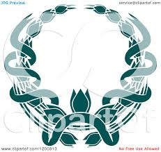 teal ribbons clipart of a vintage teal coat of arms wreath with ribbons 4