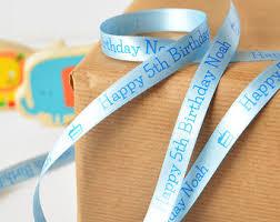 printed ribbon personalized ribbon etsy