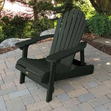 Synthetic Wood Patio Furniture by Highwood Hamilton Folding U0026 Reclining Adirondack Chair