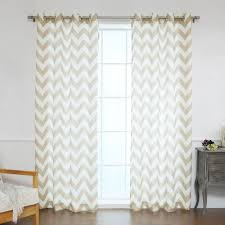 Victoria Classics Curtains Grommet by Oxford Chevron Curtain Panels Cortina Pinterest Chevron Curtains