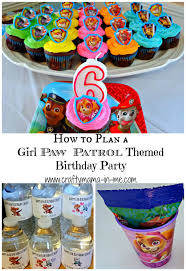 How to Plan a Girl Paw Patrol Themed Birthday Party Crafty Mama