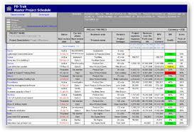 portfolio management reporting templates portfolio reporting pd trak