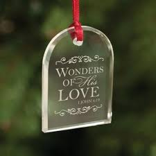 china cheap arch shaped glass ornaments with engraving