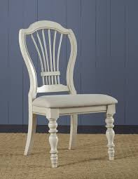 pine chairs hillsdale pine island wheat back side chair old white ivory