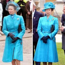 princess anne princess anne wears a coat she first wore in 1985