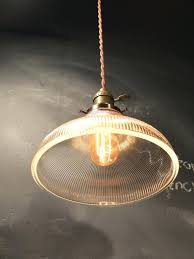 Industrial Glass Pendant Lights Mesmerizing Industrial Glass Pendant Light Like This Item