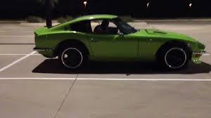 classic datsun 280z rb30det datsun 280z parking lot drive youtube