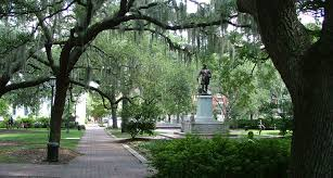 Savannah Georgia Forrest Gump Bench Five Places To Visit While In Savannah Ga Sta Design
