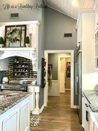 gray kitchen walls with oak cabinets blue kitchen walls with oak cabinets best feature wall ideas on