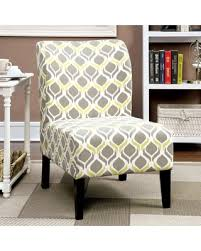 Accent Chair Modern Deal Alert Furniture Of America Bessia Modern Patterned Accent