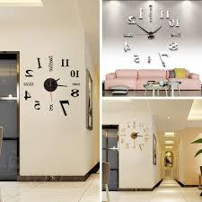 Wohnzimmer Wanduhren Modern Innenarchitektur Geräumiges Geräumiges Designer Wanduhr