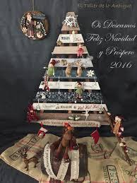 15 arbol de navidad de madera navidad pinterest navidad