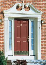 Exterior Door Pediment And Pilasters Fypon Photo Gallery Accent Building Products