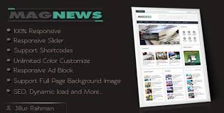 free magazine blogger template magnews v1 1 clean responsive magazine blogger template free