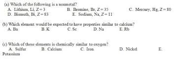 Bromine Periodic Table Periodic Table Property Questions How Do I Know Wh Chegg Com