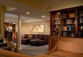 basement bedroom ideas brown laminated bed frame bedside table basement bedroom ideas