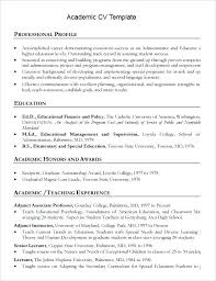 word document resume format academic resume format