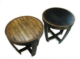 Whiskey Barrel Kitchen Table Chair Handmade Vintage Oak Whiskey Barrel Coffee Table Wine