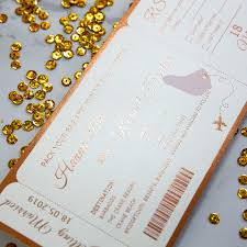 wedding invitations gold foil foil wedding invitations
