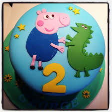 George Pig Cake Decorations George Pig Birthday Cake Google Search Luka U0027s 1st Birthday