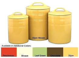 canisters for kitchen yellow kitchen canisters howtodiet club