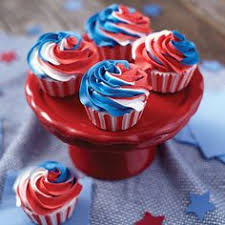 july 4th cake red white and blue cake fourth of july pinterest