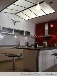 metamorphouse cuisine cuisine américaine moderne esprit loft et blanche modern