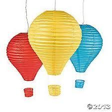 hot air balloon decorations hot air balloon paper lantern set party decorations paper